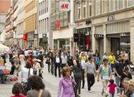 Einkaufsstraßen: Kaufingerstraße meistbesuchte Einkaufsmeile