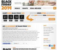 Werbeaktionen zum Black Friday