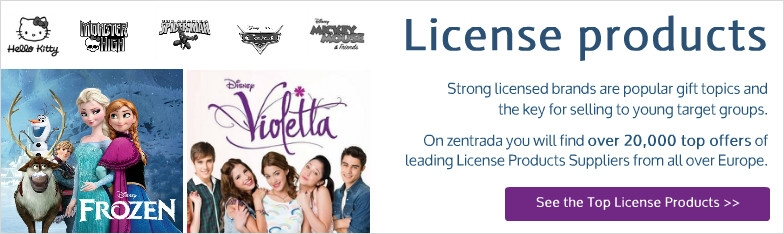 licensed products Disney Frozen Violetta