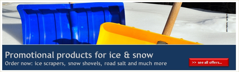 Promotional products for ice & snow