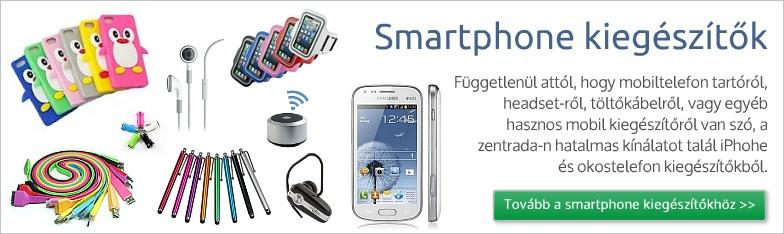 Smartphone kiegészítők a nagykereskedelemben