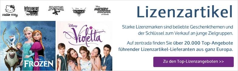 Lizenzartikel Disney Frozen Violetta
