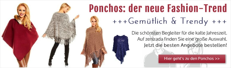 Fashion Trend Poncho Cape