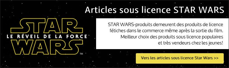 Star Wars-Lizenzartikel grossiste
