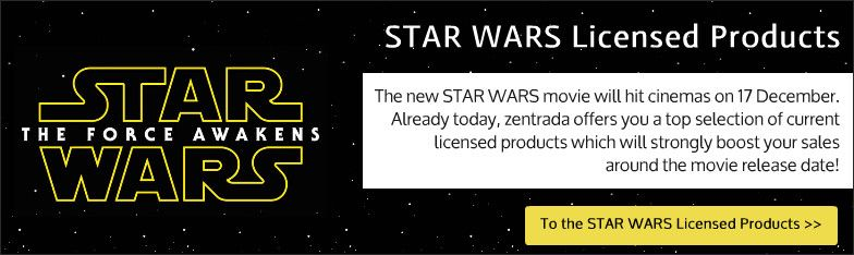 Star Wars-Lizenzartikel wholesale